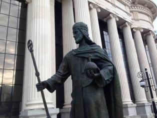 Споменик Цар Душан у Скопљу