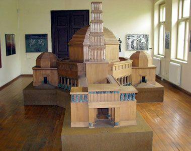 макета Видовданског храма, коју је предложио Мештровић