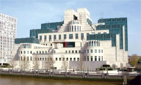 Зграда британске обавештајне службе у Лондону