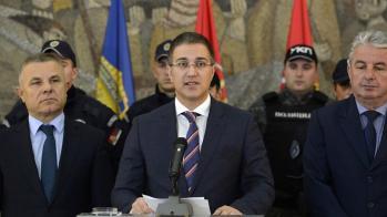 Небојша Стефановић МУТАВИ, министар полиције